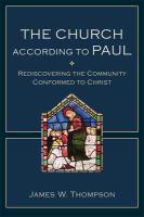 The Church According to Paul