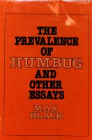 The Prevalence of Humbug, and Other Essays