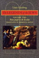 The Legends of the Jews, Volume 2