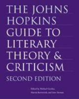 The Johns Hopkins Guide to Literary Theory & Criticism