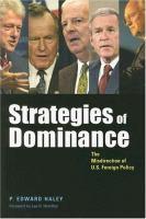 Strategies of Dominance