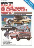 Chilton / Centrum manual de reparacion de automoviles 1980-87