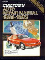 Chilton's Auto Repair Manual, 1988-92