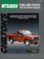 Mitsubishi Cars and Trucks 1983-89 Repair Manual