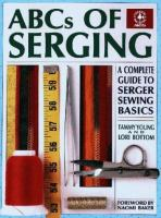 ABCs of Serging