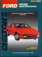 Chilton's Ford--Ford Probe 1989-92 Repair Manual