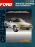 Chilton's Ford Crown Victoria/Grand Marquis 1989-93 Repair Manual