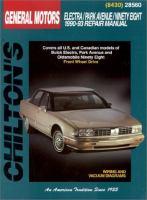 Chilton's General Motors Electra/Park Avenue/Ninety-Eight 1990-93 Repair Manual