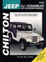 Chilton's Jeep CJ/Scrambler, 1971-86 Repair Manual