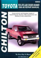 Toyota Pick-ups, Land Cruiser, 4Runner, 1989-96 Repair Manual