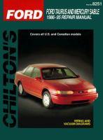 Chilton Ford Taurus and Mercury Sable, 1986-95 Repair Manual