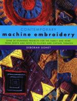 Contemporary Machine Embroidery