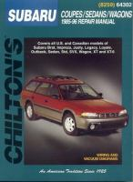 Chilton's Subaru Coupes/sedans/wagons, 1985-96, Repair Manual