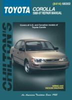 Chilton's Toyota Corolla 1988-97 Repair Manual