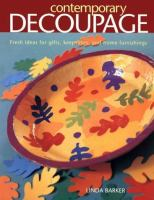 Contemporary Decoupage