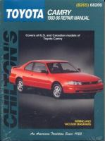 Chilton's Toyota Camry, 1983-96 Repair Manual