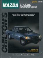 Chilton's Mazda Trucks 1987-93 Repair Manual