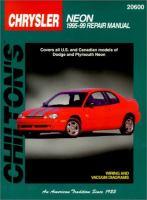 Chilton's Chrysler Neon, 1995-99 Repair Manual