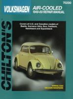 Chilton's Volkswagen Air-cooled 1949-69 Repair Manual