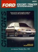 Chilton's Ford Escort/Tracer 1991-99 Repair Manual