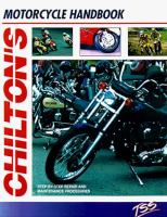 Chilton's Motorcycle Handbook