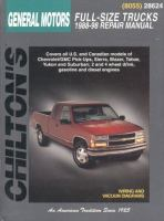 Chilton's General Motors Full-size Trucks 1988-98 Repair Manual