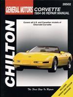 Chilton's General Motors Corvette 1984-96 Repair Manual