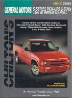 Chilton's General Motors S-series Pick-ups & SUVs, 1994-99, Repair Manual