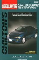 Chilton's General Motors Cavalier/Sunfire 1995-00 Repair Manual