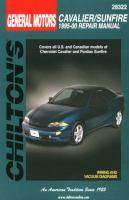 Chilton's General Motors Cavalier/Sunfire 1995-00 Repair Manual