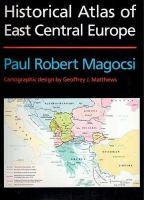 Historical Atlas of East Central Europe