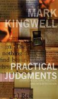 Practical Judgments