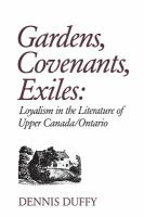 Gardens, Covenants, Exiles