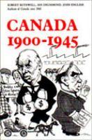 Canada, 1900-1945