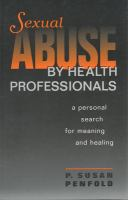 Sexual Abuse by Health Professionals