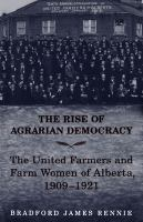 The Rise of Agrarian Democracy