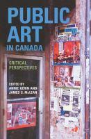 Public Art In Canada