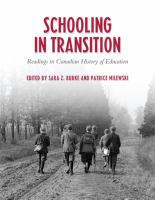 Schooling in Transition