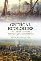 Critical Ecologies