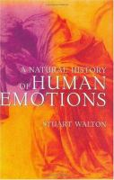A Natural History of Human Emotions