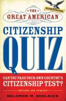 The Great American Citizenship Quiz, Revised and Updated