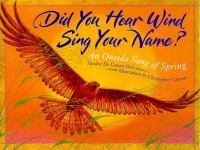 Did You Hear Wind Sing Your Name?