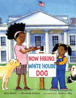 Now Hiring-- White House Dog