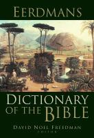 Eerdman's Dictionary of the Bible