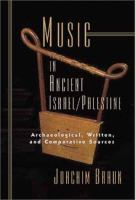 Music in Ancient Israel/Palestine