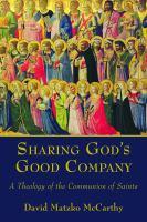 Sharing God's Good Company