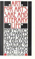 Art for Art's Sake & Literary Life