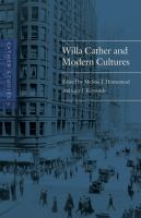 Willa Cather and Modern Cultures