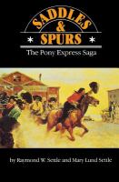 Saddles and Spurs