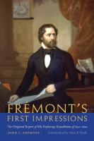 Frémont's First Impressions